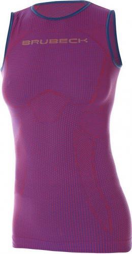 Brubeck Koszulka damska 3D Run PRO purpurowa r. L (TA10300)