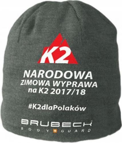 Brubeck Czapka unisex K2 szara r. L/XL (HM10190K)