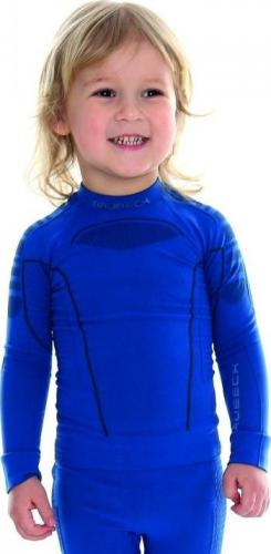 Brubeck Bluza chłopięca Thermo LS13660 niebieska r. 116/122