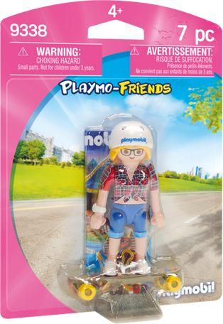 Playmobil Nastolatek z deskorolką (9338)