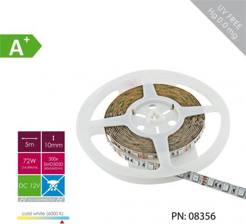 Whitenergy Taśma LED 5m ( 08356 )