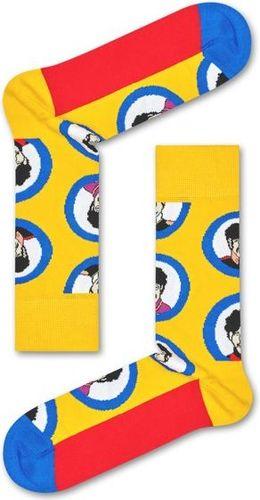 Happy Socks Skarpetki The Beatles żółte r. 36-40