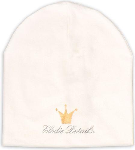 Elodie Details Elodie Details - LOGO Beanie - Powder - Vanilla White 0-6m