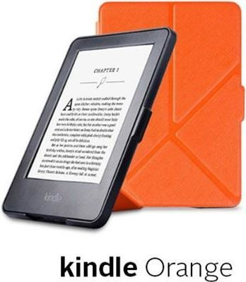 Pokrowiec Etui Origami Case Kindle Paperwhite 1/2/3 - Orange