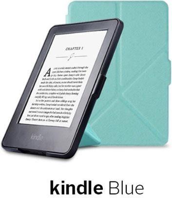 Pokrowiec Etui Origami Case Kindle Paperwhite 1/2/3 - Blue