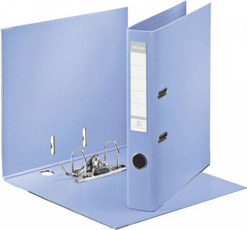 Segregator Esselte No.1 Solea dźwigniowy A4 50mm niebieski (231041)