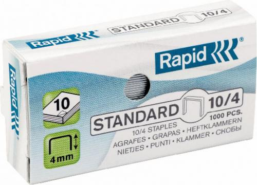 Esselte Zszywki Rapid Standard 10/4, 1000 szt. (24862900)