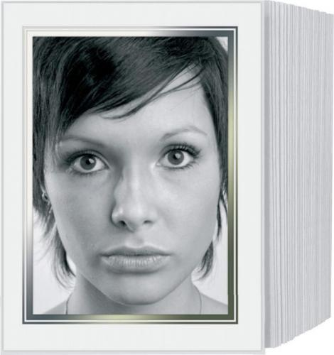 Daiber Etui paszportowe 13x18 białe 125szt. (20110)