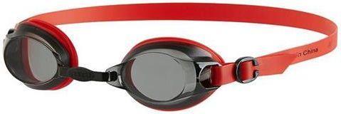 Speedo Okulary pływackie Jet V2 red/smoke (97B572)