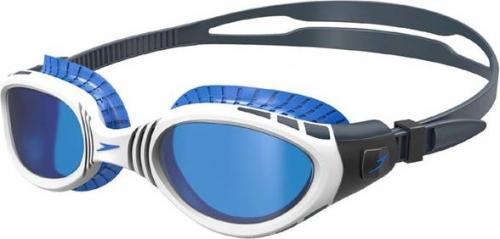 Speedo Okulary pływackie Futura BioFuse Flexiseal niebiesko-czarne (15C107)