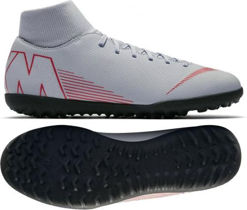 Nike Buty piłkarskie Mercurial SuperflyX 6 Club TF szare r. 40 (AH7372-060)