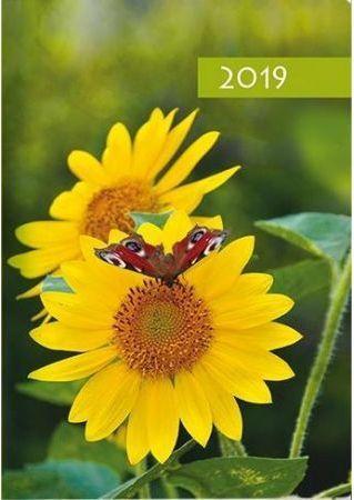 Edycja Świętego Pawła Kalendarz 2019 B7 kwiatek
