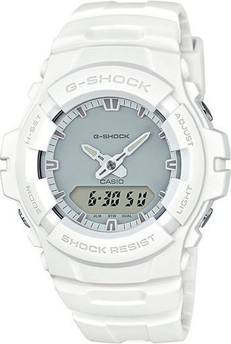 Zegarek Casio Męski G-100CU-7AER G-Shock WR 200 White