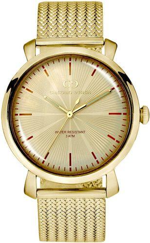 Zegarek Giacomo Design Męski elegancki GD09004 złoty