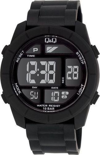 Zegarek Q&Q Męski M123-001 Dual Time czarny