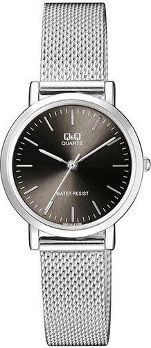 Zegarek Q&Q Męski QA21-212 Klasyczny Mesh srebrny