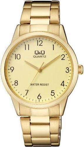 Zegarek Q&Q Męski QA44-003 Klasyczny złoty