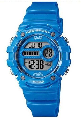 Zegarek Q&Q Damski M154-006 Dual Time niebieski