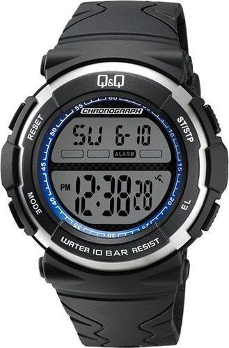 Zegarek Q&Q Męski Q&Q M159-003 Dual Time Alarmy