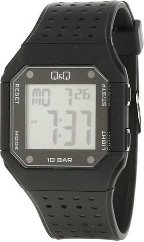 Zegarek Q&Q Męski M158-001 Dual Time czarny