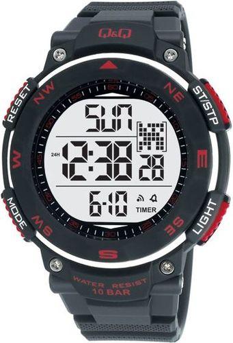 Zegarek Q&Q Męski M124-001 Metronom czarny