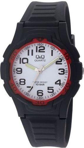 Zegarek Q&Q Męski VP84-006 Wodoszczelny czarny