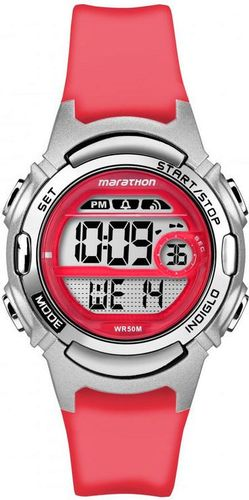 Zegarek Timex Damski Marathon Digital TW5M11300 czerwony