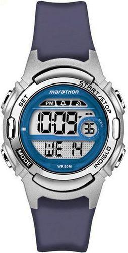 Zegarek Timex Damski Marathon Digital TW5M11200 granatowy