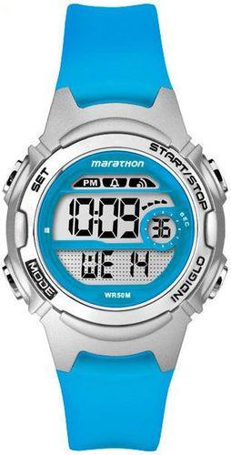 Zegarek Timex Damski Marathon Digital TW5K96900 niebieski