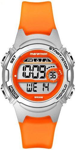 Zegarek Timex Damski Marathon Digital TW5K96800 pomarańczowy