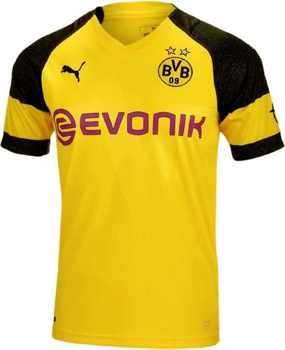 Puma Koszulka piłkarska  BVB Borussia Dortmund 2018/2019 żółta r. M (753310-01)