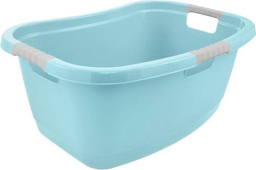 Kosz na pranie Keeeper Janne 50L niebieski (GRE000180)