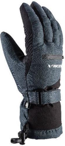 Viking Rękawice unisex Duster szaro-czarne r. 10 (110/20/2012/09)