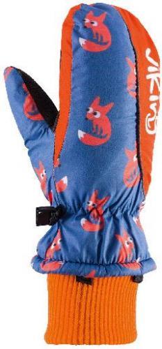 Viking Rękawice dziecięce Kids Digi niebiesko-pomarańczowe r. 3 (125/20/0011/53)