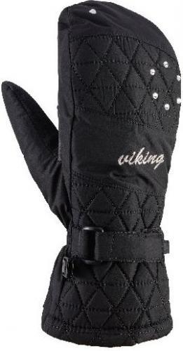 Viking Rękawice damskie Mirabel Mitten czarne r. 8 (113/20/2289/09)