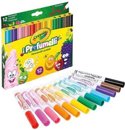 Crayola Markery zapachowe Silly scents 12 szt.