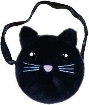 Starpak Torebka dziecięca Kot czarny