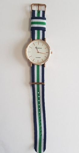 Zegarek GSM City Damski 22663 niebiesko-zielony