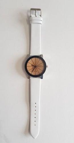 Zegarek GSM City Damski 22676 Duży biały