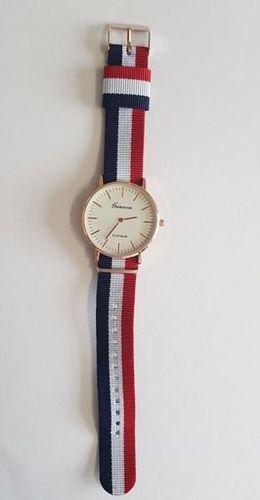 Zegarek GSM City Damski 22664 niebiesko-czerwony