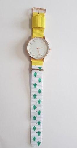 Zegarek GSM City Damski 22660 żółto-biały