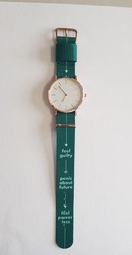 Zegarek GSM City Damski 22658 zielony