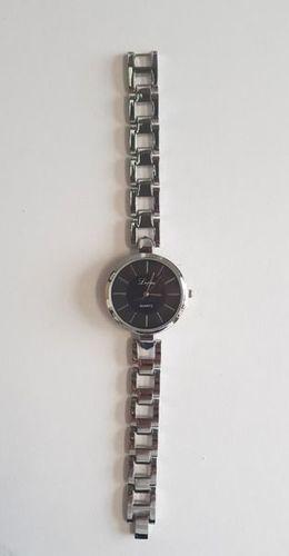 Zegarek GSM City Damski 22646 srebrno-czarny