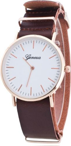 Zegarek GSM City Damski 22626 Classic brązowy