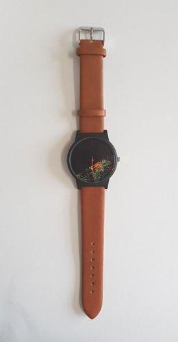 Zegarek GSM City damski 22622 brązowy