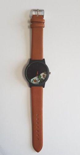 Zegarek GSM City Zegarek 22617 wiosenny brązowy