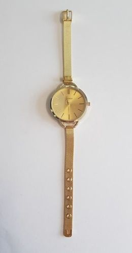 Zegarek GSM City Damski 22633 Steel złoty
