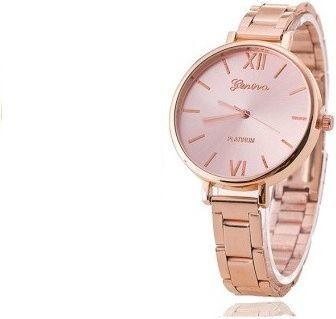 Zegarek GSM City Damski 22628 Platinum różowy