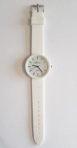 Zegarek GSM City Unisex 22635 Silikon Biały