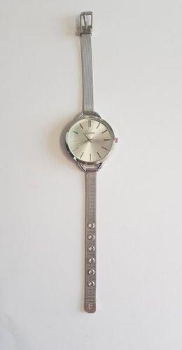 Zegarek GSM City Damski 22634 Steel Srebrny